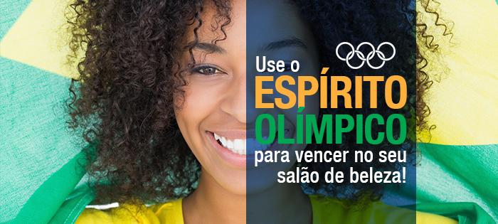 Use o Espírito Olímpico para vencer no seu salão de beleza!