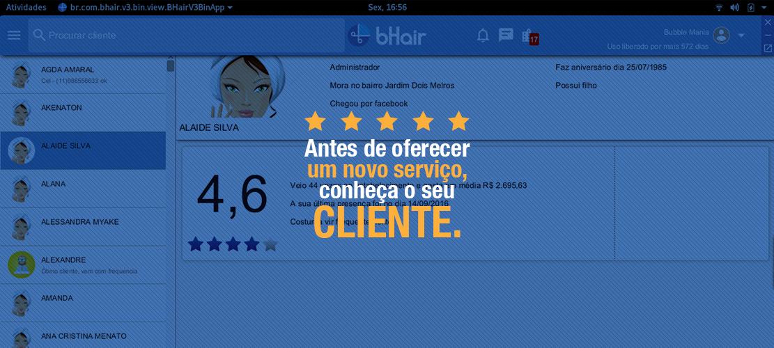 Antes de oferecer um novo serviço, conheça o seu cliente.