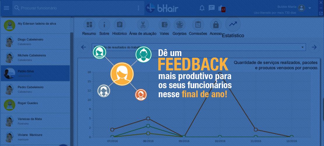 Dê um feedback mais produtivo para os seus profissionais nesse final de ano!