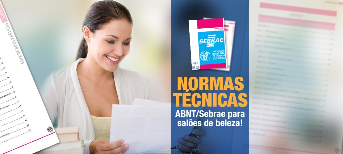 Normas Técnicas ABNT/Sebrae para salões de beleza!