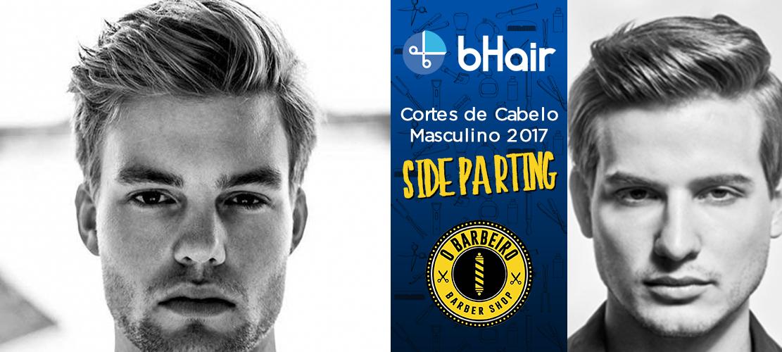 Cortes de Cabelo Masculino 2017 – Side Parting