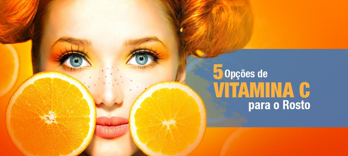 5 Opções de Vitamina C para o Rosto