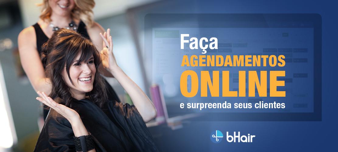 Faça agendamentos online e surpreenda seus clientes